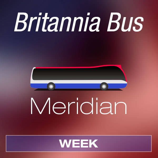 Britannia Bus - Meridian Week - Product Image