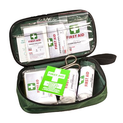 Vehicle and Travel Compact First Aid Kit