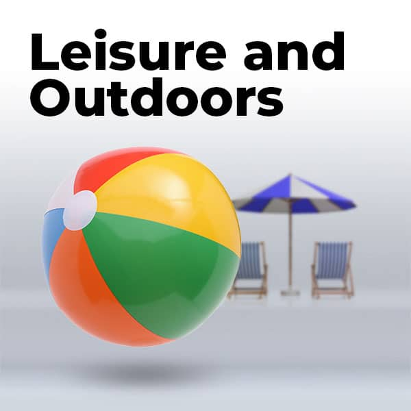 Leisure and Outdoors catagory products