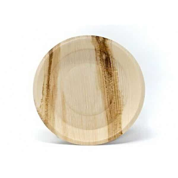Product Image - Eco-Friendly Compostable Disposable Areca Palm Leaf 8inch round
