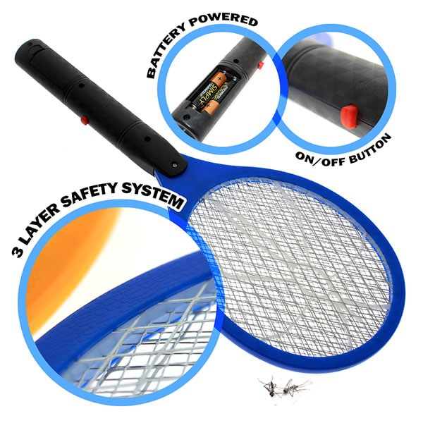 Product Image - S006507011 - Electronic Bug Zapper Swatter blue - 01